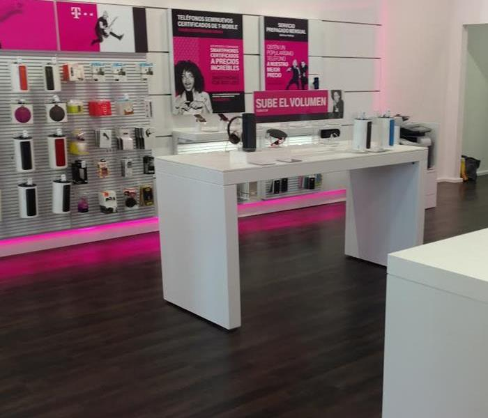 Flooded Wireless Phone Store in Concord, CA After
