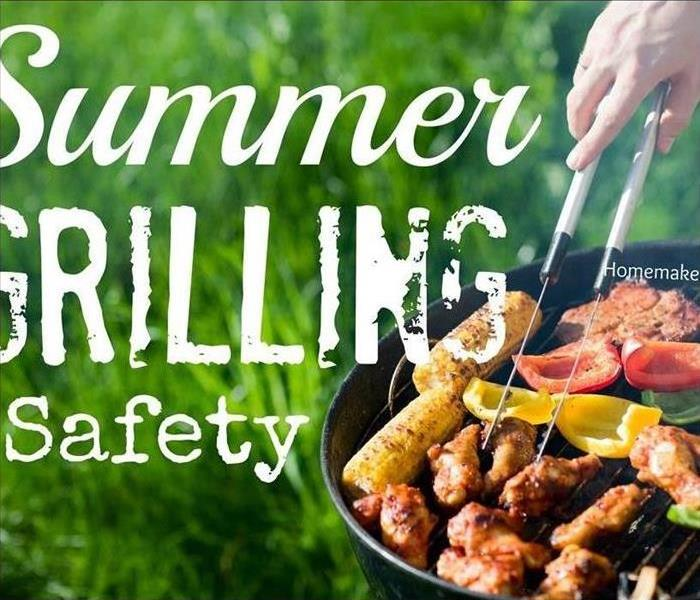Fire Damage Grilling Safety Tips